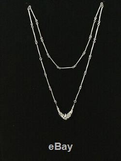 Juhls Kautokeino Tundra Line 925S Sterling Silver Necklace Norway with Box
