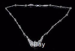 Juhls Kautokeino Tundra Line Sterling Silver Necklace Norway