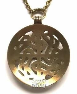 KALEVALA KORU KK Finland Beautiful Bronze Necklace with Viking Motif Snakes