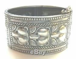 KALEVALA KORU KK Finland Beautiful Vintage 1965 Sterling Silver Bear Bracelet