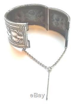 KALEVALA KORU KK Finland Beautiful Vintage Sterling Silver Bear Bracelet