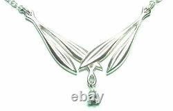 KALEVALA KORU KK Finland Sterling Silver Necklace Kielo / Lily of the Valley
