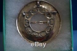 Karl Otteren 925S Sterling Silver Solje Brooch Pin Pendant