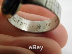 Kupittaan Kulta Finland 14k Sterling Ring Finnish Sz 13.25 Elis Kauppi Artisan