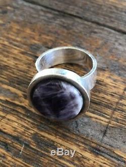 Kupittaan Kulta Sterling Silver ring Amethyst Finland