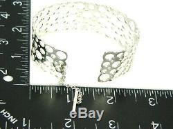 LIISA VITALI Nils Westerback Finland PITSI Ladybird Sterling Cuff Bracelet NW