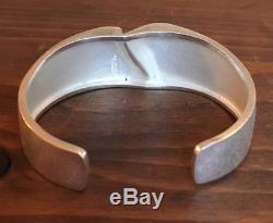 Lapponia Bjorn Weckstrom 1992 Sterling Silver Darina's Cuff Bracelet