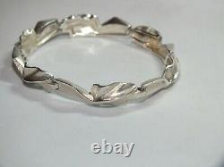 Lapponia. Sterling Silver'Hespera' Bracelet. Finland 19 cm