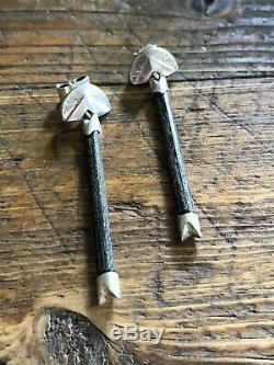 Lapponia Sterling Silver Ibenholt Bjorn Weckstrom Finland Earrings