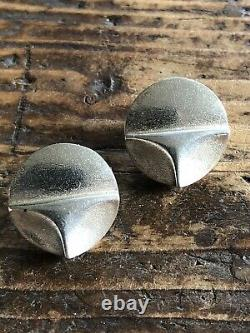 Lapponia Sterling Silver Mid Century Earrings Finland