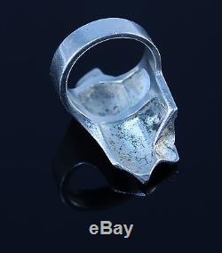 Lapponia Sterling Silver Ring Björn Weckström Finland Modernist Jewelry R4192