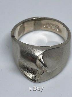 Lapponia Sterling Silver ring Bjorn Weckstrom Finland