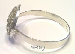 Liisa Vitali Finland Vtg 1975 Sterling Silver Bracelet Hopeakenno VERY RARE