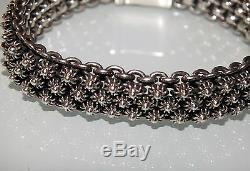 Modernist Creol / Per Nilson Sterling Silver 925 Bracelet Denmark