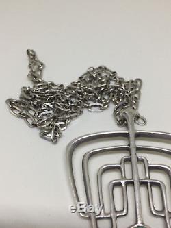 Never used David Andersen Sterling Silver Pendant Norway Norwegian