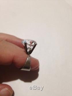 Norwegian Norway Marianne Berg Uni David Andersen Ring 925S Rock Crystal vintage