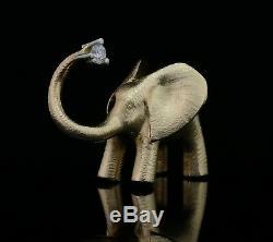 Ole Lynggaard Elephant Charm / Clasp 14K Gold with Diamond A1212