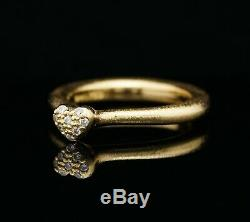 Ole Lynggaard Love Ring 18K Gold with Diamonds A1328