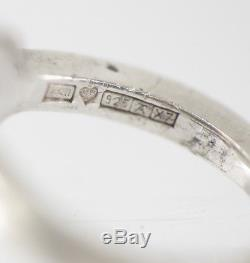 Pekka Piekainen, Auran Kultaseppä Oy Finland 1975 Modernist Sterling Silver Ring