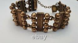 Pertti Peuri bronze bracelet Finland vintage Finnish Scandinavian 1960-70s