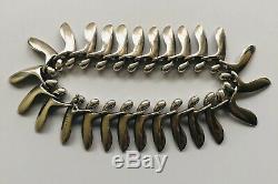 RARE Georg Jensen Denmark Sterling Silver Bracelet #115, Bent Gabrielsen Design