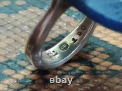 RareVintage Georg Jensen Sterling Silver Sodalite Ring By Vivianna Torun #190