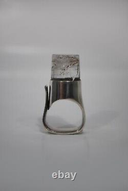 Rare 1960s Vivianna Torun Bülow-Hübe Ring #151 Georg Jensen Vintage Denmark