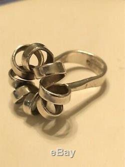 Rare Anna Greta Eker Sterling Silver Ring Buzz Norway Norwegian