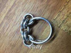 Rare Anna Greta Eker Sterling Silver Ring Norway Norwegian