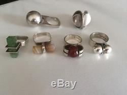 Rare! Authentic Kupittaan Kulta Ellis Kauppi Ring Finnish Vintage Size 5