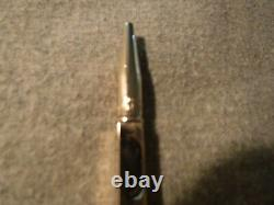 Rare Georg Jensen Gold Filled Pencil Pendant and Gilted Georg Jensen Chain