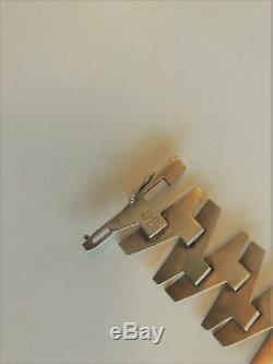 Rare Georg Jensen Mid-century Sterling Silver Bracelet #114