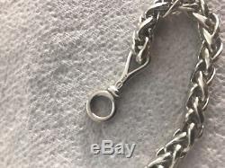 Rare Georg Jensen Sterling Silver Wheat Bracelet by Vivianna Torun