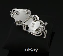 Rare Heavy Sterling Silver Bracelet nr 465 Georg Jensen Regitze Overgaard A682