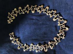 Rare Iconic Mid-Century Modernist Henning Koppel Silver Necklace (Georg Jensen)