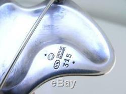 Rare Sterling & Enamel GEORG JENSEN Pin / Brooch HENNING KOPPEL 315 Denmark