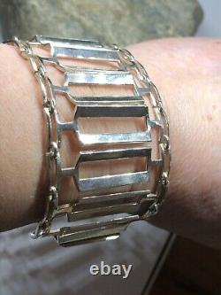 Rare Tone Vigeland Norway Designs Bracelet Sterling Silver Norwegian