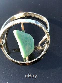 Rare Tone Vigeland Sterling Silver bracelet Norway Norwegian Amazonite