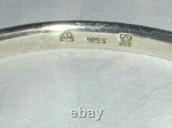 Rare Vintage Anton Michelsen Denmark Modernist Sterling Torc Bracelet