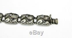 Rare Vintage Silver Bracelet by Niels Anker Leth Jensen. Denmark