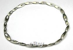 Regitze Overgaard for GEORG JENSEN Modern Sterling Silver Zephyr Necklace # 500A