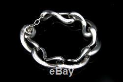 Regitze Overgaard for GEORG JENSEN Silver Infinity Bracelet # 452