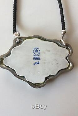 Royal Copenhagen Arje Griegst Porcelain Pendant No. 5097