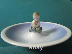 Royal Copenhagen Scandinavian Danish Porcelain Jewelry Dish Bowl MERMAID