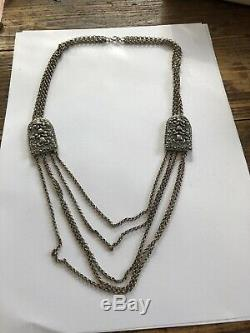 Saga Viking David Andersen Sterling Silver Necklace Norway Norwegian