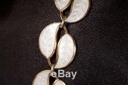 Scandinavian David Anderson Demi-Parure boxed vintage necklace, bracelet, brooch