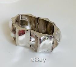 Scandinavian Silver Bracelet, Matti J Hyvarinen (MJH) of Sirokoru Finland c. 1975