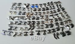 Set Of 50 Scandinavian Silver 925s Cufflinks Pairs By Georg Jensen, N. E. From