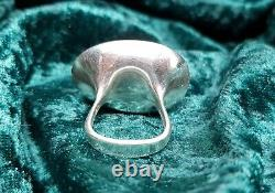 Silver Denmark Georg Jensen Serenity ring by Vivianna Torun