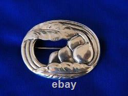 Sterling GEORG JENSEN Pin Brooch design # 18